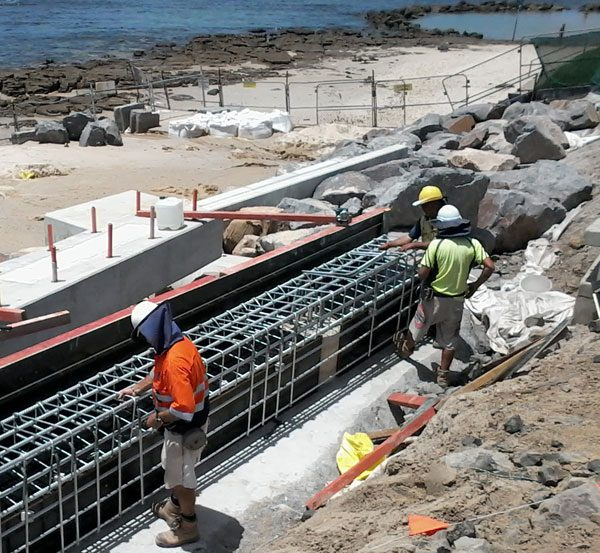 working-on-norah-head-boat-ramp
